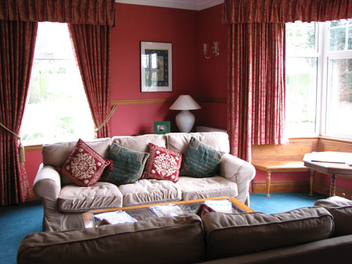 guests sitting room,The Durdans, North Norfolk bed and breakfast